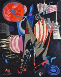 composition fond noir by pierre de berroeta