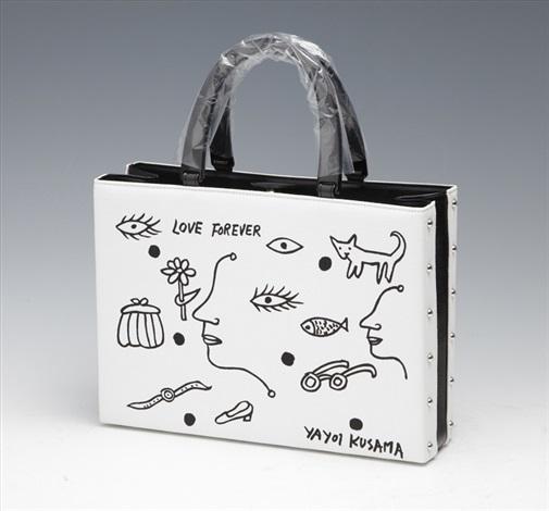 love forever handbag by yayoi kusama