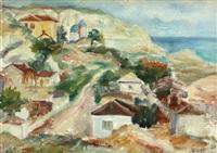 balchik view by constantin bacalu