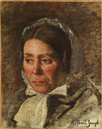 femme à la coiffe by joseph bail