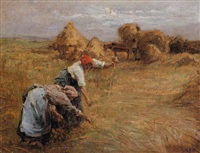 haymaking by eugène labitte