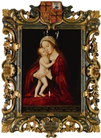 madonna and child by marcellus coffermans
