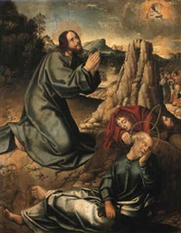 the agony in the garden by pablo de aregio