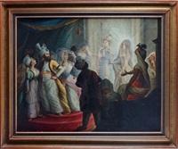 sultan au harem by sauveur legros