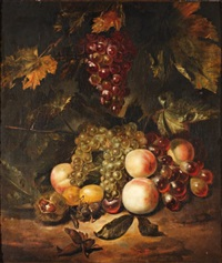 nature morte de fruits en automne by jan mortel