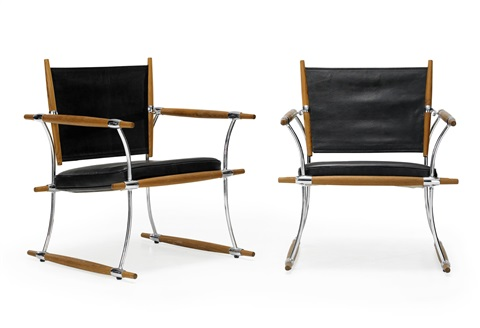 armchairs pair by jens quistgaard