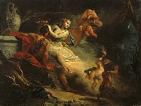 ariadne and bacchus by francesco zugno the younger