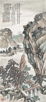 landscape by jiang shufang