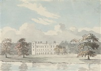 view of syon house by john fisher