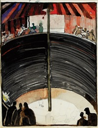 study for the wall of death by harry epworth allen