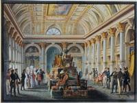 salone della nobile societa in milano by alessandro sanquirico