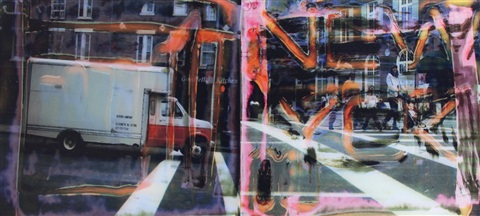 ford in transit by maurizio galimberti