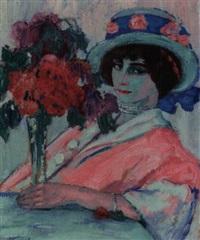 porträt violet by georg einbeck