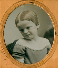 child with tilted head by southworth & hawes