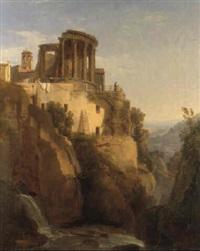 il tempio della sibilla a tivoli by luigi basiletti