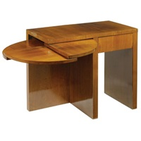 a side table by victor courtray