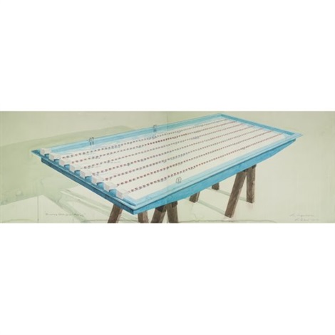piscina olimpica dyptico by los carpinteros
