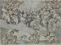 anges musiciens by agostino ciampelli