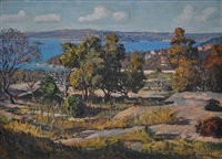 middle harbour, aug.1947 by julian richard ashton