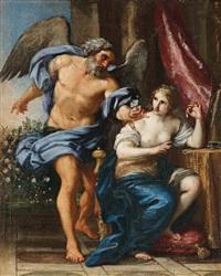 die zeit und die vanitas by italian school-roman (17)