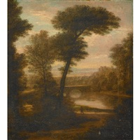landscape (italy) by washington allston