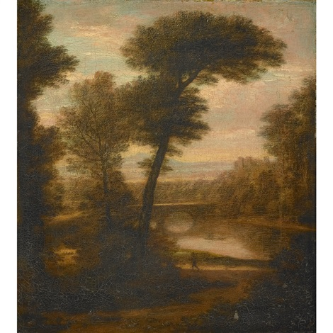 landscape italy by washington allston