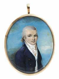 portrait de jeune homme by edward nash