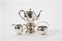 coffee/tea service (set of 4) by d.j. aubert