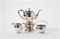 coffee/tea service (set of 4) by d.j. aubert