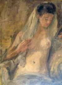 femme au drapé by jean adler