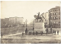 union square, new york city by henry hunt snelling