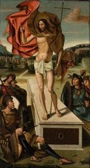 resurrección de cristo by master of ildefonso