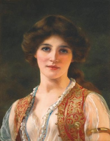 an eastern beauty by william clarke wontner