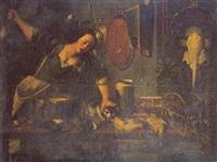 le chapardeur de volailles by amico fiorentino del saraceni