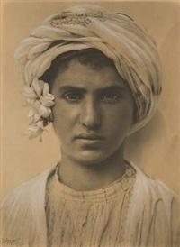 portrait d'un jeune kabyle by rudolf lehnert