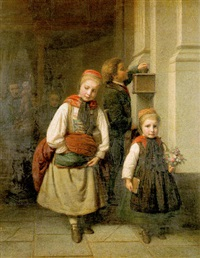after church by karl friedrich boser