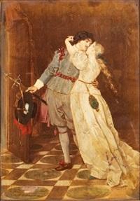 scène galante by florent willems