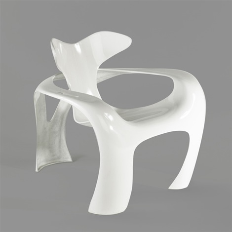 swinger lounge chair by luigi colani