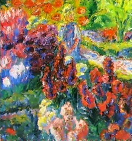 Bilder Blumengarten blumengarten kleines madchen by emil nolde on artnet