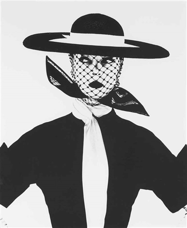 black and white vogue cover by irving penn