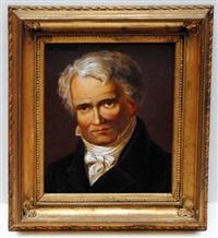 portrait of a man by alexander von humboldt