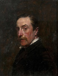 portrait of mr j. soden by john seymour lucas