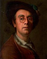 autoportrait de l'artiste by johann christian fiedler