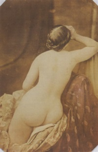 seated nude by oscar gustave rejlander