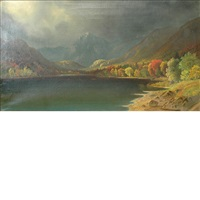 untitled (lake scene) by daniel charles grose
