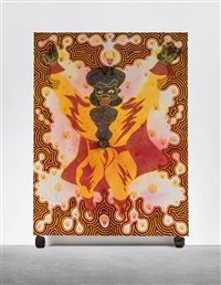 the saga continues...the journey from hell by chris ofili