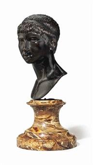 bust of ptolemy of mauretania by (pier giacomo ilario bonacolsi) antico