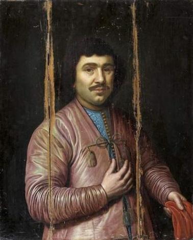 portrait dun gentilhomme russe by pieter lastman