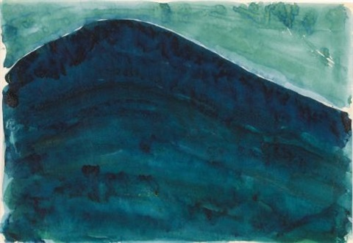 green hill by georgia o'keeffe