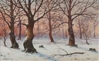 las zimą by jozef guranowski